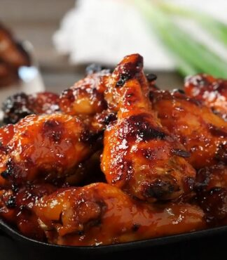 Slow Cooker Chicken Wings With Keto BBQ Sauce
