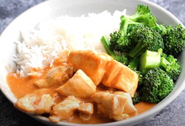 low carb slow cooker butter chicken
